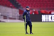 AMSTERDAM, NEDERL&Auml;NDERNA - 2017-10-09: Janne Andersson under tr&auml;ning inf&ouml;r FIFA 2018 World Cup Qualifier mellan Nederl&auml;nderna och Sverige p&aring; Amsterdam ArenA  den 9 oktober, 2017 i Amsterdam, Nederl&auml;nderna. <br /> Foto: Nils Petter Nilsson/Ombrello<br /> ***BETALBILD***