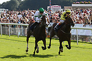WYCLIFF (1) ridden by Harry Bentley and trained by Ralph Beckett winning The Matchbook EBF Future Stayers Novice Stakes over 7f (£16,000)  during the Family Race Day held at York Racecourse, York, United Kingdom on 8 September 2019.