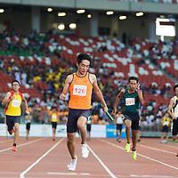 B Div Boys 4x100m