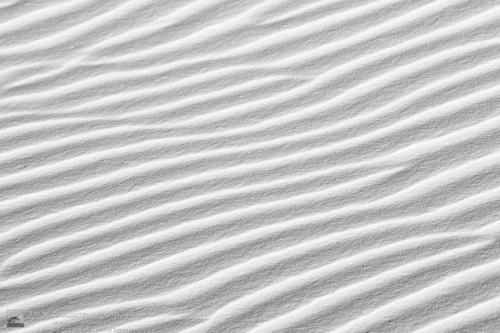 Pristine sand patterns - White Sands National Monument, New Mexico