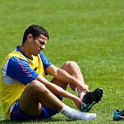 NLD/Katwijk/20100831 - Training Nederlands Elftal kwalificatie EK 2012, Khalid Bouhlarouz