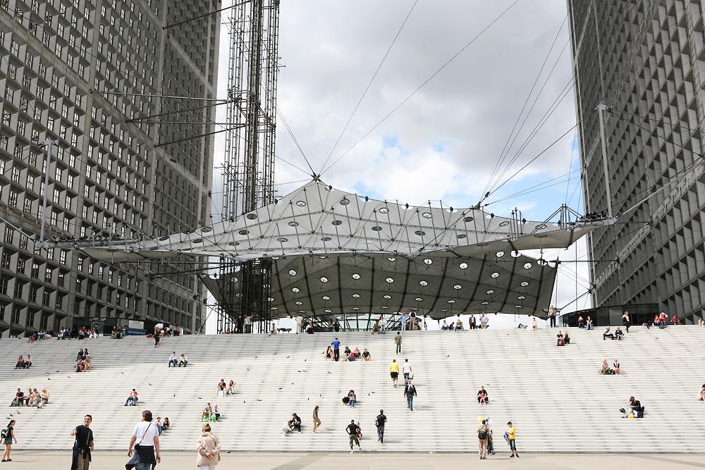 Paris, France, August 2007. La Défense.