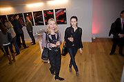 ELENA LAPTEVA; TATIANA RODIONOVA, Zaha Hadid and Triflow Concepts host the launch of a pioneering new kitchen and bathroom lifestyle. 46 Portland Place. London. 28 January 2009 *** Local Caption *** -DO NOT ARCHIVE-© Copyright Photograph by Dafydd Jones. 248 Clapham Rd. London SW9 0PZ. Tel 0207 820 0771. www.dafjones.com.<br /> ELENA LAPTEVA; TATIANA RODIONOVA, Zaha Hadid and Triflow Concepts host the launch of a pioneering new kitchen and bathroom lifestyle. 46 Portland Place. London. 28 January 2009