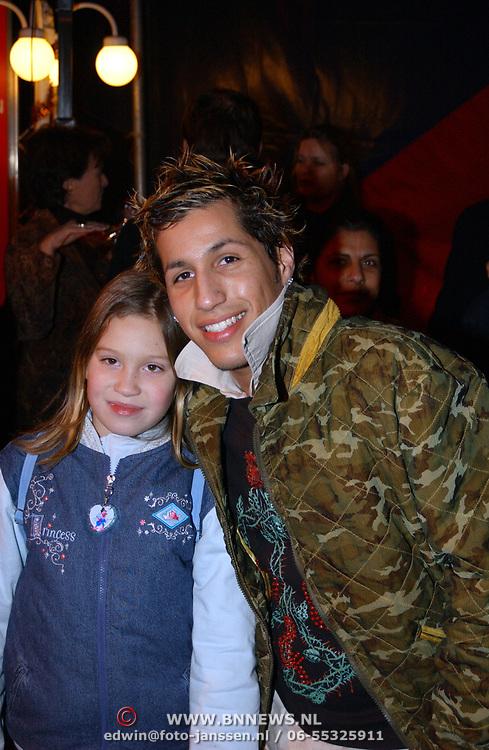 Russisch Kerstcircus 2003, Jody Bernal en