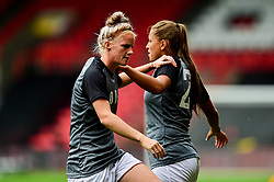Jasmine Matthews of Bristol City and Abi Harrison of Bristol City  - Mandatory by-line: Ryan Hiscott/JMP - 07/09/2019 - FOOTBALL - Ashton Gate - Bristol, England - Bristol City Women v Brighton and Hove Albion Women - FA Women's Super League
