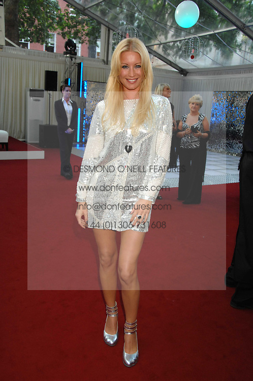 DENISE VAN OUTEN at the Glamour magazine Women of the Year Awards held in the Berkeley Square Gardens, London W1 on 5th June 2007.<br />