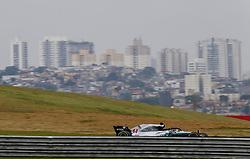 November 9, 2018 - Sao Paulo, Brazil - Motorsports: FIA Formula One World Championship 2018, Grand Prix of Brazil World Championship;2018;Grand Prix;Brazil ,  #44 Lewis Hamilton (GBR, Mercedes AMG Petronas F1 Team) (Credit Image: © Hoch Zwei via ZUMA Wire)
