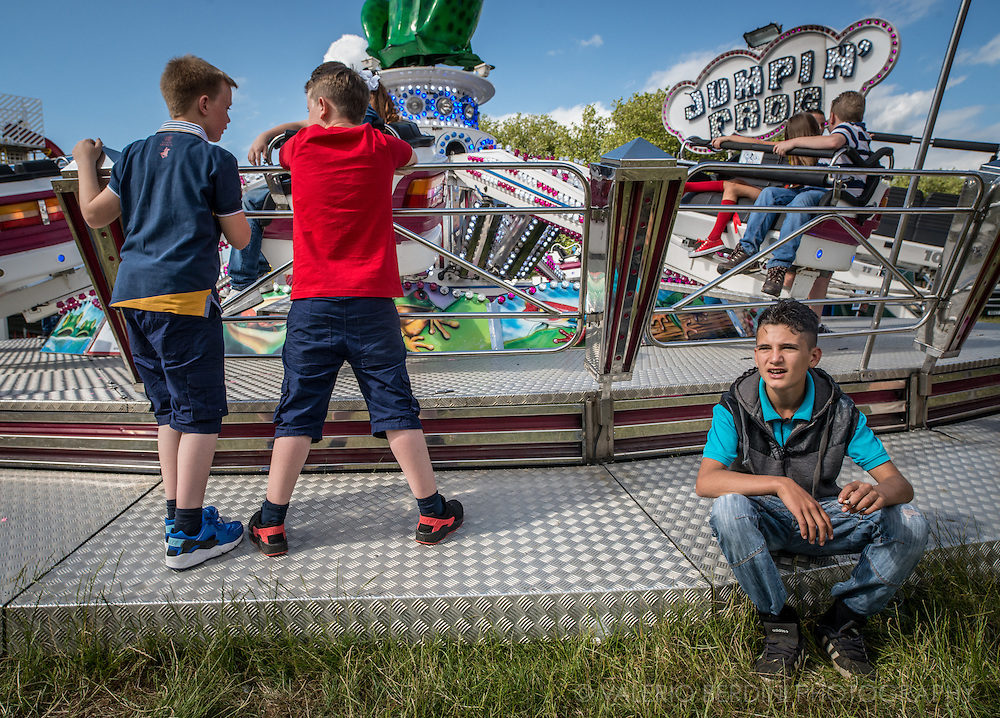 Smoking cigarette among the young boys belonging to the travellers community is still perceived as a sign of manliness.