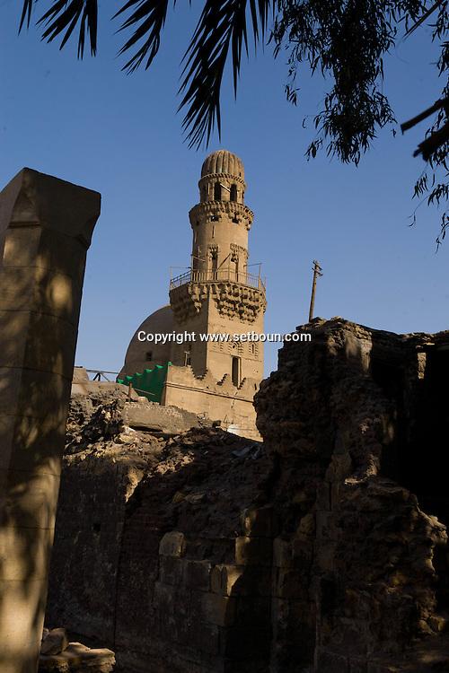 Egypt. Cairo -Khanka SAIL EL SOHADA   in Gamalyah area. Islamic cairo     sail al Suada NM480 +