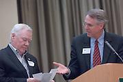 18174Sales Celebration and Awards Ceremony, April 19, 2007. Walter Hall Rotunda...Mr. Howard Stevens & Ken Hartung
