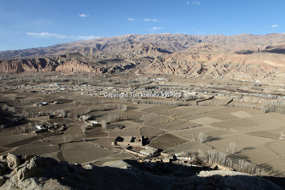 view around Bamyan city, Afghanistan