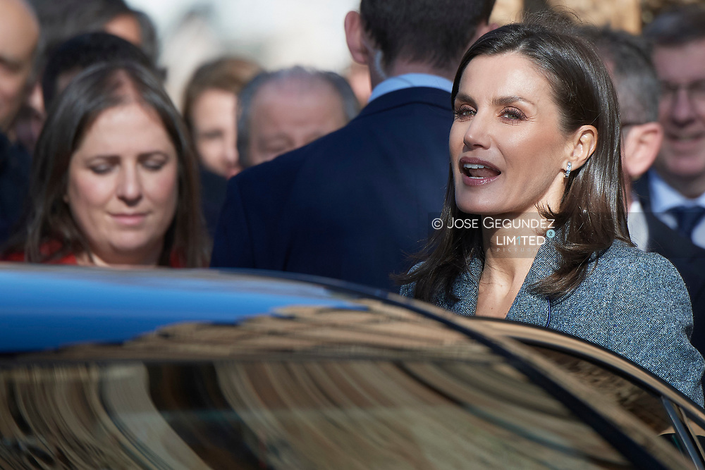 Queen Letizia of Spain attends the opening of Exhibition 'Zirid Granada and the Berber universe' at Carlos V Palace, La Alhambra on December 5, 2019 in Madrid, Spain'Zirid Granada and the Berber universe' at Carlos V Palace, La Alhambra on December 5, 2019 in Madrid, Spain