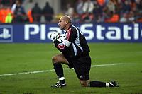 Milano 22/10/2003 Champions League <br />Milan Club Brugge 0-1 <br />Dany Verlinden (Club Brugge)<br />Photo Staccioli / Graffiti