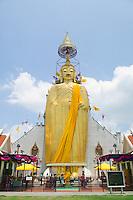 Giant Buddha Wat Intharawihan Bangkok Thailand&#xA;<br />