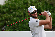 Kalle Samooja (FIN) on the 2nd during Round 1 of the Oman Open 2020 at the Al Mouj Golf Club, Muscat, Oman . 27/02/2020<br /> Picture: Golffile   Thos Caffrey<br /> <br /> <br /> All photo usage must carry mandatory copyright credit (© Golffile   Thos Caffrey)