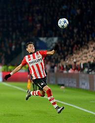 08-12-2015 NED: UEFA CL PSV - CSKA Moskou, Eindhoven<br /> PSV wint met 2-1 en plaatst zich voor de volgende ronde in de CL / Hector Moreno #5