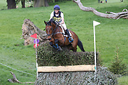 James Stocker riding Rudy Valentino during the International Horse Trials at Chatsworth, Bakewell, United Kingdom on 13 May 2018. Picture by George Franks.