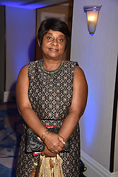 Dame Doreen Lawrence at the Chain of Hope Gala Ball held at the Grosvenor House Hotel, Park Lane, London England. 17 November 2017.<br /> Photo by Dominic O'Neill/SilverHub 0203 174 1069 sales@silverhubmedia.com