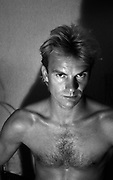 Sting - The Police - 1979 portrait