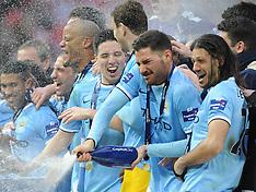 Manchester City v Sunderland Wembley 2/3/14