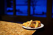 Friday Fish Fry at the East Side Club, Friday, February 5, 2016. The weekly event is now being managed by the owners of Slide Food Cart in their rebranded catering venture, Beyond Catering.