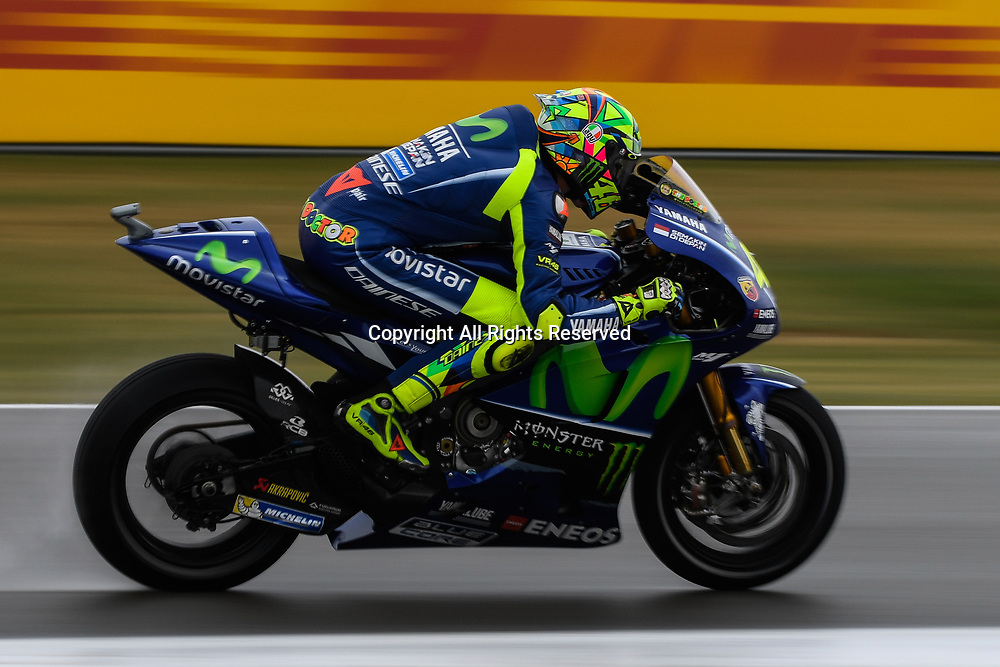 June 24th 2017, TT Circuit, Assen, Netherlands; MotoGP Grand Prix TT Assen, Qualifying Day; Valentino Rossi ( Movistar Yamaha) during the qualifying sessions takes 4th on the grid