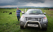 Gatelawbridge farmer uses 4x4 to check of his stock