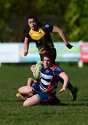 Phoebe Murray of Bristol Ladies - Mandatory by-line: Dougie Allward/JMP - 26/03/2017 - RUGBY - Cleve RFC - Bristol, England - Bristol Ladies v Wasps Ladies - RFU Women's Premiership