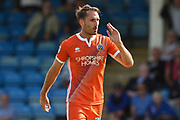 Shrewsbury Town midfielder Alex Rodman (23) after scoring a goal (0-2) during the EFL Sky Bet League 1 match between Gillingham and Shrewsbury Town at the MEMS Priestfield Stadium, Gillingham, England on 2 September 2017. Photo by Martin Cole.