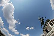 Hofburg (former Royal Castle). Erzherzog Karl rider monument.