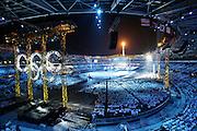 Stadio Olimpico cerimonia di chiusura dei XX Giochi olimpici invernali.  26 febbraio 2006 Torino