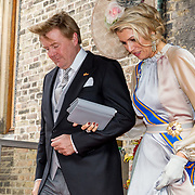 NLD/Den Haag/20180918 - Prinsjesdag 2018, Koning Willem Alexander en Koningin Maxima
