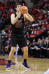 17 February 2018:  Austin Phyfe during a College mens basketball game between the University of Northern Iowa Panthers and Illinois State Redbirds in Redbird Arena, Normal IL