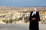Elderly woman in Capadocia, Turkey