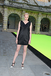 GWENDOLINE CHRISTIE at the preview party for The Royal Academy Of Arts Summer Exhibition 2013 at Royal Academy of Arts, London on 5th June 2013.