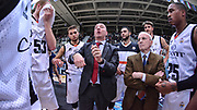 DESCRIZIONE : Trento Beko All Star Game 2016<br /> GIOCATORE : Dan Peterson Massimiliano Menetti<br /> CATEGORIA : Allenatore Coach Time Out<br /> SQUADRA : Cavit All Star Team<br /> EVENTO : Beko All Star Game 2016<br /> GARA : Dolomiti Energia All Star Team - Cavit All Star Team<br /> DATA : 10/01/2016<br /> SPORT : Pallacanestro <br /> AUTORE : Agenzia Ciamillo-Castoria/L.Canu