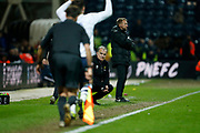 Leeds United Manager Marcelo Bielsa during the EFL Sky Bet Championship match between Preston North End and Leeds United at Deepdale, Preston, England on 9 April 2019.