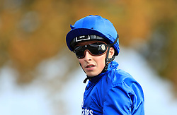 Jockey William Buick at Newmarket Racecourse