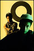 Hip Hop artist Mantronix, London 1980s