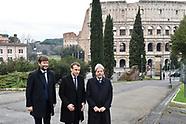 20180111-  Macron Gentiloni Franceschini Domus Aurea