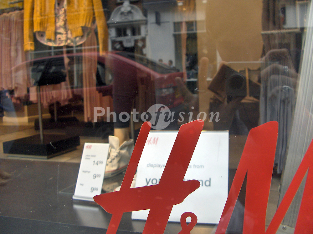 H&M Hennes clothing store; Covent Garden; London