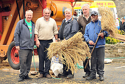 Trashing Oats at the Murrisk Pattern day on sunday last<br />  were Joe McGing, Michael McLoughlin, Michael Conway, Billy Ryan and |Jimmy Walsh.<br /> Pic Conor McKeown