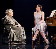 Waste <br /> by Harley Granville Barker<br /> at the Lyttelton Theatre, NT, Southbank, London, Great Britain <br /> 9th November 2015 <br /> <br /> <br /> <br /> Doreen Mantle as Countess Mortimer <br /> Olivia Williams as Amy O'Connell <br /> <br /> <br /> <br /> Photograph by Elliott Franks <br /> Image licensed to Elliott Franks Photography Services