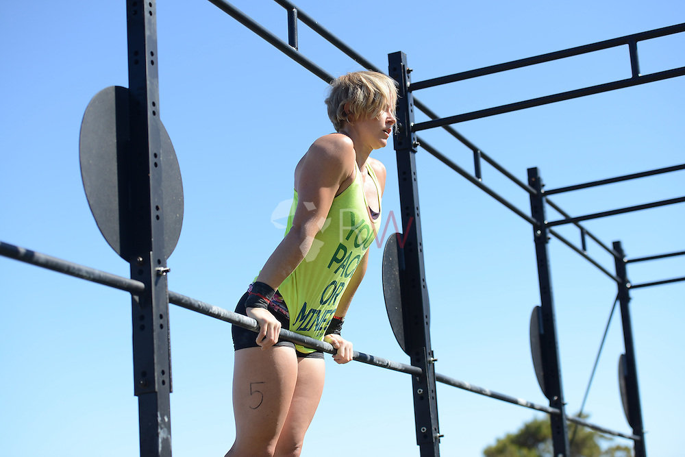 Ladies Event 4, Day 2, during Fittest in Cape Town 2015, Cape Town, South Africa. Photo by @rubywolff
