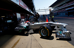 Motorsports / Formula 1: World Championship 2011, Testing in Barcelona, test, 07 Michael Schumacher (GER, Mercedes GP Petronas F1 ),