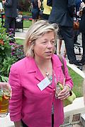LOUISE GOOD, JOHN D. WOOD, Archant Summer party. Kensington Roof Gardens. London. 7 July 2010. -DO NOT ARCHIVE-© Copyright Photograph by Dafydd Jones. 248 Clapham Rd. London SW9 0PZ. Tel 0207 820 0771. www.dafjones.com.