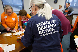 Moms Demand Action lobby day at the Capitol in Frankfort, Kentucky, Wednesday, Feb. 17, 2016.