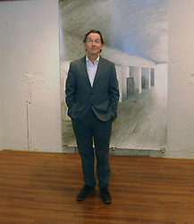 Fergus McAllister at the opening of the Westival Gallery October 2018,<br />Photo Conor McKeown