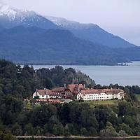 South America, Argentina, Bariloche. Llao Llao Resort in Patagonia.