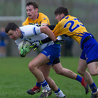 Waterford's Paul Walsh V Clare's Eanna O'Connor and Eoghan Collins